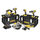 DeWalt DCK692M3 6 Piece 18V XR Li-Ion Power Tool Kit