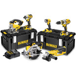 Dewalt DCK694P3-G 18V Brushless 6 Piece Kit (3 batteries) & 2 x Kitboxes