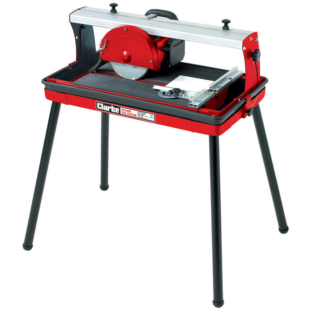 Clarke Etc400 Radial Electric Tile Cutter With Stand Machine Mart