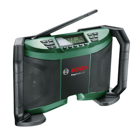 bosch easyradio 12v cordless radio bare unit machine. Black Bedroom Furniture Sets. Home Design Ideas