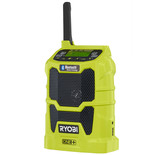 Ryobi One+ R18R-0 18V Cordless Radio with Bluetooth (Bare Unit)