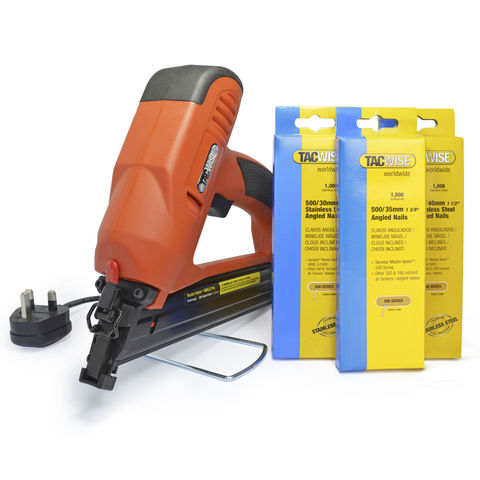 Image of Tacwise Tacwise 400ELS Pro Master Nailer (230V) & Nail Bundle