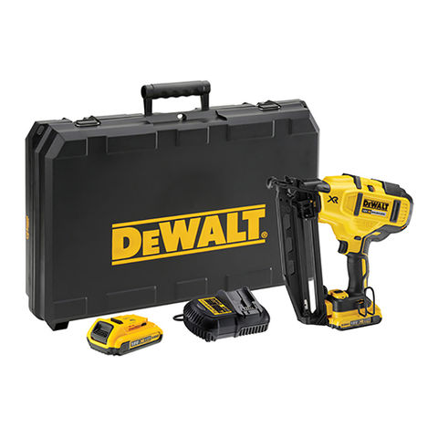Image of DeWalt DeWalt DCN660D2 18V XR Brushless 16GA Nailer with 2x2.0Ah Batteries