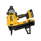 DeWalt DCN890P2-GB 18V XR Li-Ion Brushless Concrete Nailer with 2 x 5Ah Batteries
