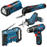 Bosch GSB 5 Piece 10.8V Power Tool Kit