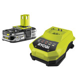 Ryobi One+ RBC18L15 18V 1.5Ah Battery and Charger Kit