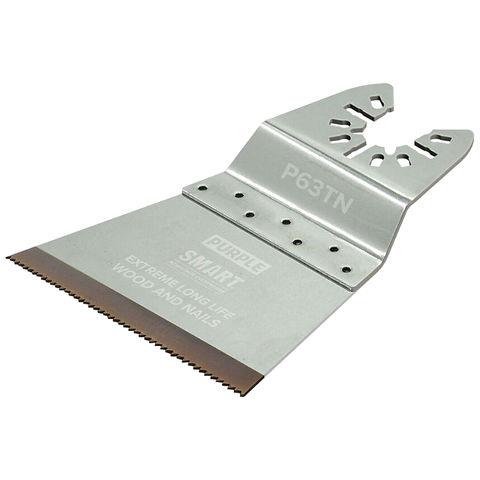 Image of SMART SMART Purple Series Titanium Alloy 63mm Multi-tool Blades 3 pack