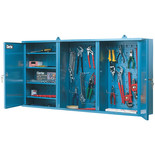 Clarke CWC50 Wall Cabinet With Two Lockable Doors
