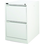 Steelco 2DFCMX 2 Drawer Filing Cabinet (White)