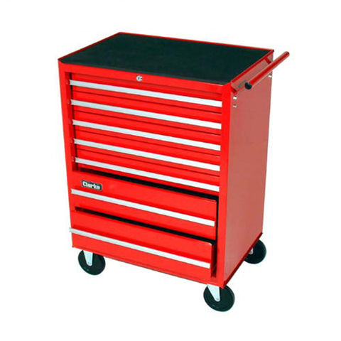 Image of Clarke Clarke CTC107 Professional 7 Drawer Tool Cabinet