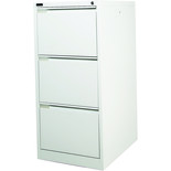 Steelco 3DFCMX 3 Drawer Filing Cabinet (White)