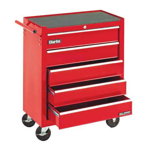 Image of Clarke Clarke CTC500B Mechanics' Steel Tool Cabinet