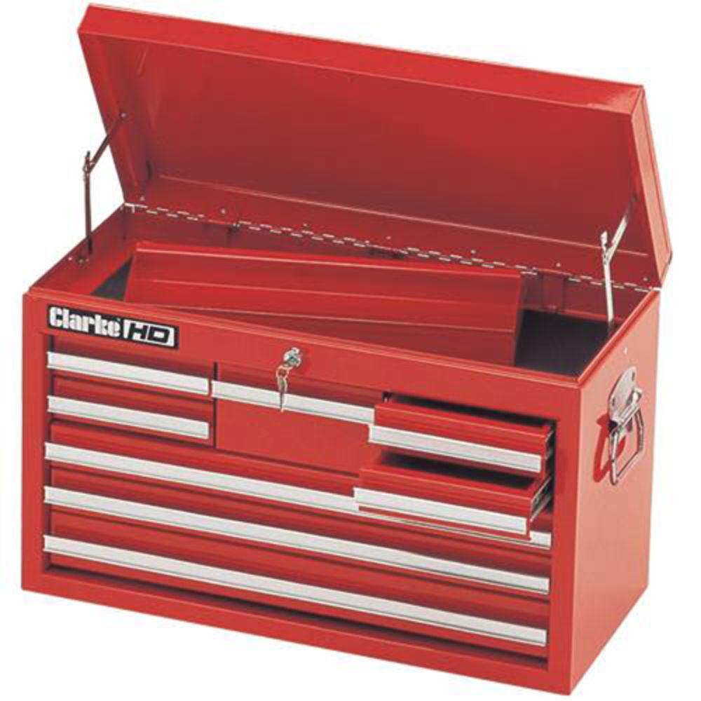 Clarke CFS308 Heavy Duty 8 Drawer Tool Chest - Machine Mart ...