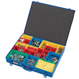 Clarke CHT729 Metal Organiser Storage Case with 23 Bins