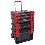 Sealey Professional Trail Box with 5 Tool Storage Cases