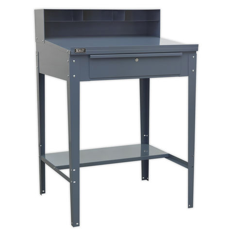 Image of Sealey Modular System Sealey AP875 Industrial Workstation 1 Drawer (Grey)