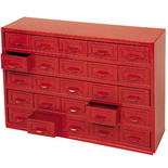 Clarke CTB900 - 25 Drawer Parts Cabinet