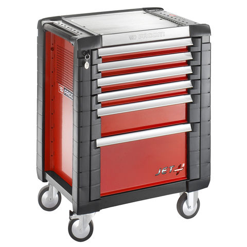 Machine Mart Xtra Facom JET.6M3 – 6 Drawer Tool Cabinet (Red)