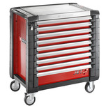 Facom JET.9M4 - 9 Drawer Tool Cabinet (Red)