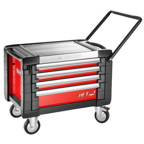 facom jet cr4m3 4 drawer rolling tool chest red machine mart machine mart. Black Bedroom Furniture Sets. Home Design Ideas
