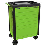 Sealey Rollcab 7 Drawer Push-To-Open Hi-Vis Green