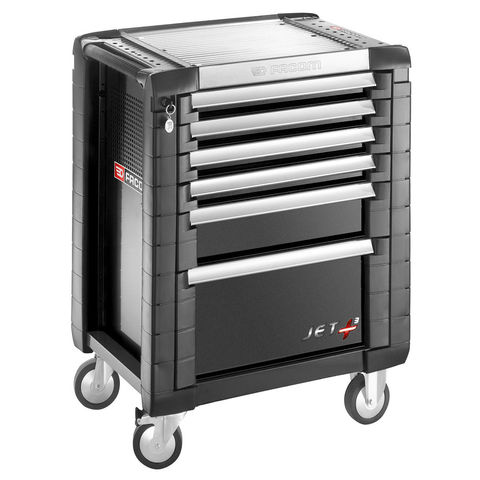 Image of Facom Facom JET.6GM3 - 6 Drawer Tool Cabinet (Black)