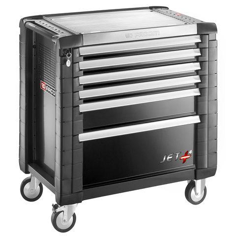 Machine Mart Xtra Facom JET.6GM4 – 6 Drawer Tool Cabinet (Black)