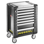 Facom JET.8GM3S - 8 Drawer Black Roller Tool Cabinet