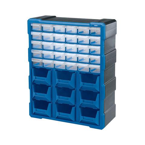 Draper POC39 30 Drawer 9 Bin Plastic Organiser