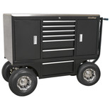 Sealey APPC07 Heavy-Duty 7 Drawer Pit/Yard Cart