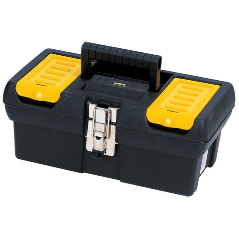 "Image of Stanley Stanley 12½"" Tool Box with Metal Latch"