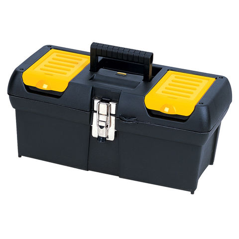 "Image of Stanley Stanley 16"" Tool Box with Metal Latches"
