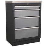 Sealey APMS51 Modular 4 Drawer Floor Cabinet 680mm