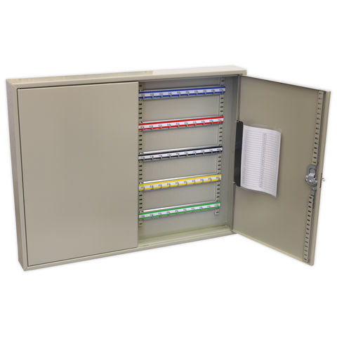 Image of Sealey Sealey SKC100W Key Cabinet 100 Key Capacity (Wide)
