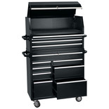 "Draper TC4C/RC8C/42C 42"" Combined Roller Cabinet and Tool Chest (12 Drawer)"