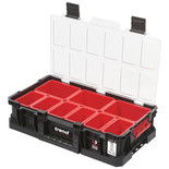 Trend MS/C/100B9 Compact Storage 100mm Toolbox with 9 Storage Bins