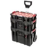 Trend MS/C/SET3C Compact Storage 3 Piece Cart Set