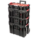 Trend MS/C/SET4C Compact Storage 4 Piece Cart Set