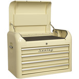Sealey AP28104 Topchest 4 Drawer Retro Style (Cream)