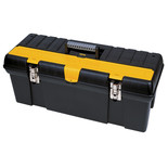 "Stanley 26"" Tool Box with Metal Latches"