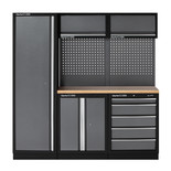 Clarke COMBGSM02 Wooden Top 11 Piece Modular Storage System Package