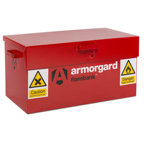 Image of Machine Mart Xtra Armorgard FB1 FlamBank Hazardous Substances VanBox