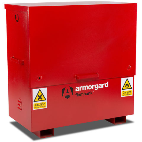 Image of Armorgard Armorgard FBC4 FlamBank Hazardous Substances Chest