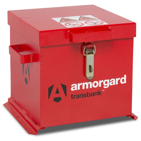 Image of Machine Mart Xtra Armorgard TRB1 TransBank Hazardous Substance Transit Box