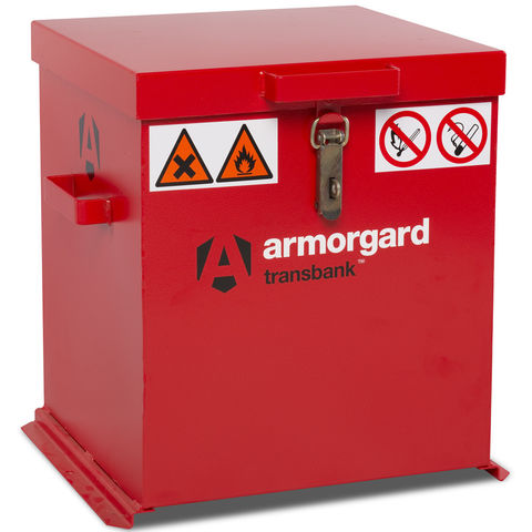 Image of Machine Mart Xtra Armorgard TRB2 TransBank Hazardous Substance Transit Box
