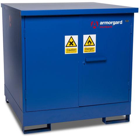 Image of Armorgard Armorgard DB4 DrumBank 4 Fuel Drum Storage Cabinet