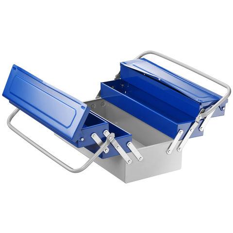 Image of Britool Britool E194738B - 450mm 5 Compartment Metal Toolbox