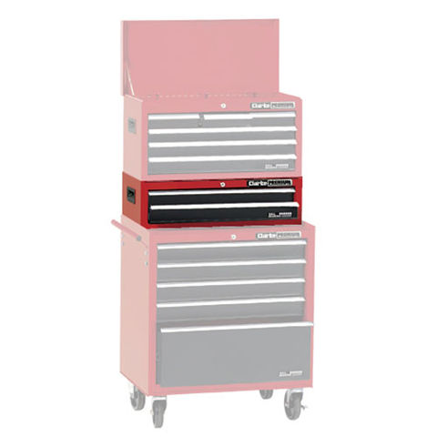 Image of Clarke Clarke CLB200 Premium 2 Drawer Step Up Tool Chest