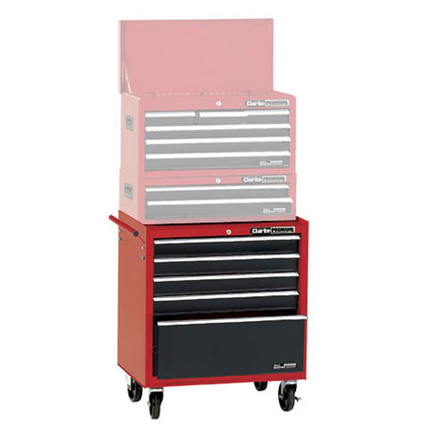 Image of Clarke Clarke CLB1005 Premium 5 Drawer Mobile Tool Cabinet