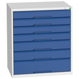 Bott Verso Drawer Cabinet 800x550x900mm With 7 Drawers